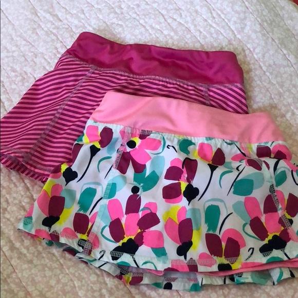 Gymboree Girls Stripe Culotte Shorts